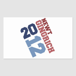 VOTO DECISIVO 2012 DE NEWT GINGRICH RECTANGULAR ALTAVOZ