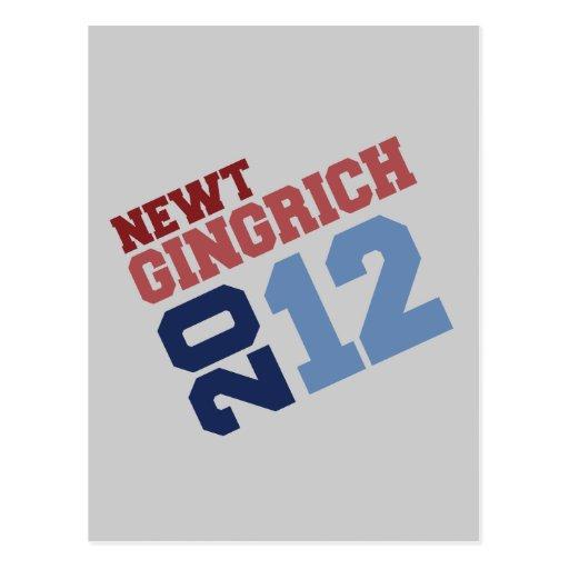 VOTO DECISIVO 2012 DE NEWT GINGRICH POSTALES