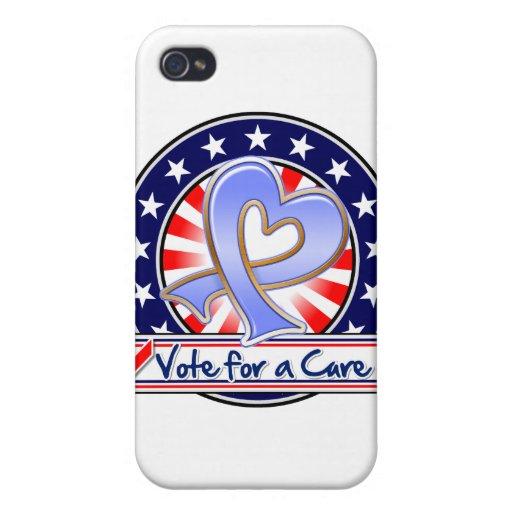Voto del cáncer de estómago para una curación iPhone 4/4S funda