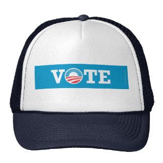 VOTO del gorra de Favorable-Obama