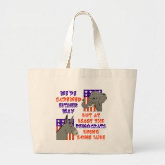 ¡Voto Demócrata! Bolsas De Mano