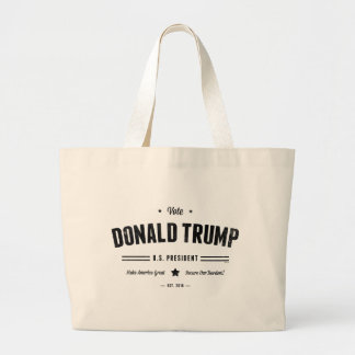 Voto Donald Trump Bolsa Tela Grande