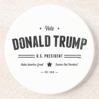 Voto Donald Trump Posavasos Cerveza