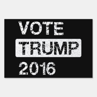 Voto Donald Trump Señales
