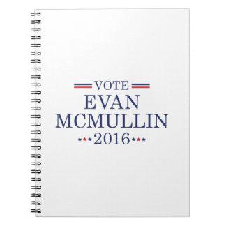 Voto Evan McMullin Libros De Apuntes
