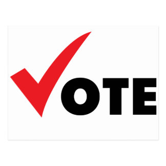 Voto grande de la señal postal