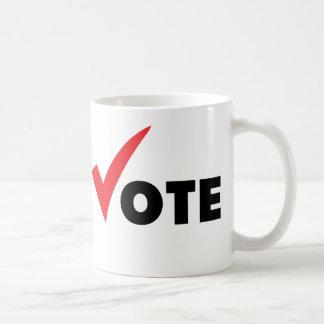 Voto grande de la señal tazas