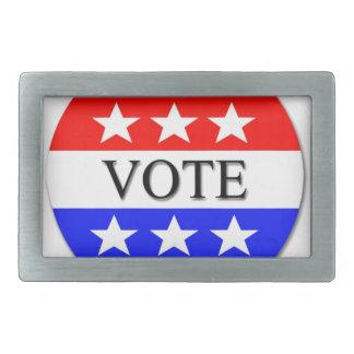 Voto Hebilla Cinturón Rectangular