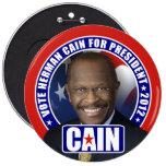 Voto Herman Caín 2012 Pin