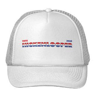 Voto Hickenlooper 2010 elecciones blanco y azul ro Gorras