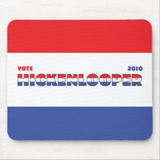 Voto Hickenlooper 2010 elecciones blanco y azul ro Mouse Pads
