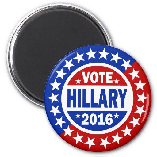 Voto Hillary 2016 Imanes De Nevera