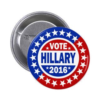 Voto Hillary 2016 Pin