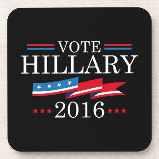 Voto Hillary 2016 Posavasos