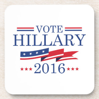 Voto Hillary 2016 Posavasos De Bebidas