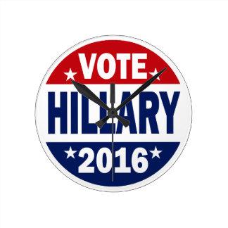 Voto Hillary 2016 Reloj