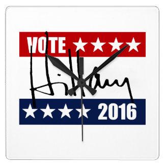 VOTO HILLARY CLINTON 2016 RELOJES