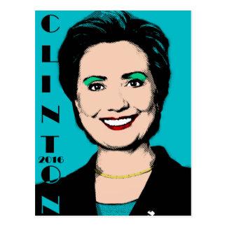 Voto Hillary Clinton de Clinton 2016 para el Tarjetas Postales