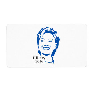 Voto Hillary Clinton de Hillary 2016 para el Etiqueta De Envío
