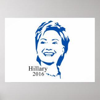 Voto Hillary Clinton de Hillary 2016 para el Póster