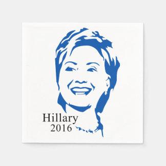 Voto Hillary Clinton de Hillary 2016 para el Servilletas De Papel