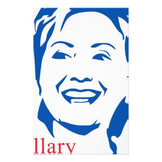 Voto Hillary Clinton de HIllary el 2016% el pipe% Papeleria