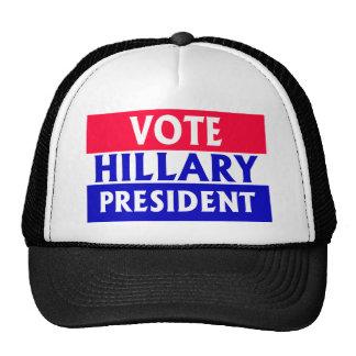 Voto Hillary Clinton Gorras De Camionero