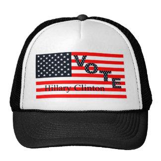 Voto Hillary Clinton para el presidente 2016 Gorras De Camionero