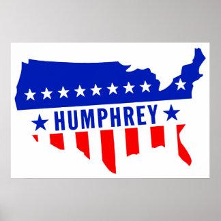 Voto Hubert Humphrey Impresiones