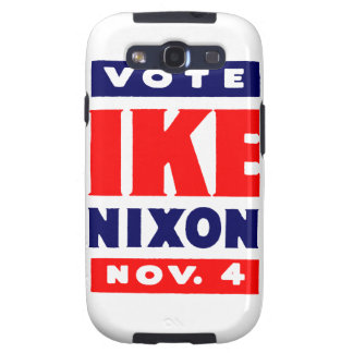 Voto Ike, Nixon en 1952 Samsung Galaxy SIII Funda
