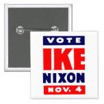 Voto Ike, Nixon en 1952 Pins
