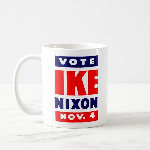 Voto Ike, Nixon en 1952 Tazas