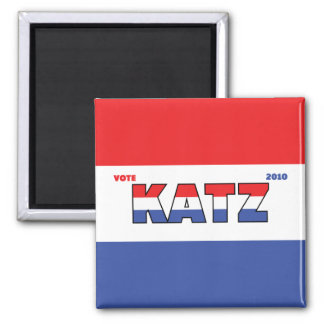 Voto Katz 2010 elecciones blanco y azul rojos Imán Cuadrado