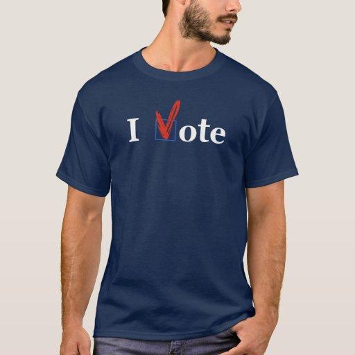 """""""Voto"""" la camiseta disponible en varios colores"""