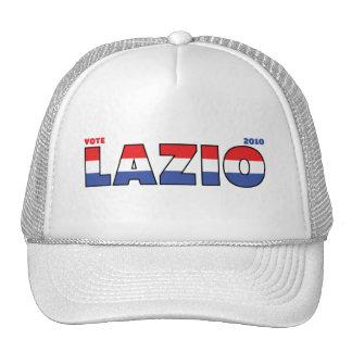 Voto Lazio 2010 elecciones blanco y azul rojos Gorros Bordados