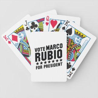 Voto Marco Rubio Baraja