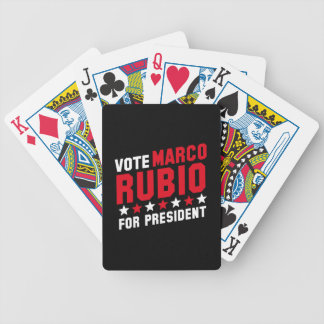 Voto Marco Rubio Cartas De Juego
