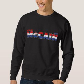Voto McCain 2010 elecciones blanco y azul rojos Sudadera