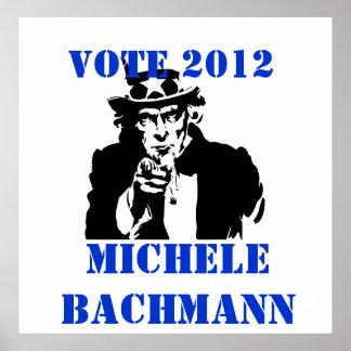 VOTO MICAELA BACHMANN 2012 PÓSTER