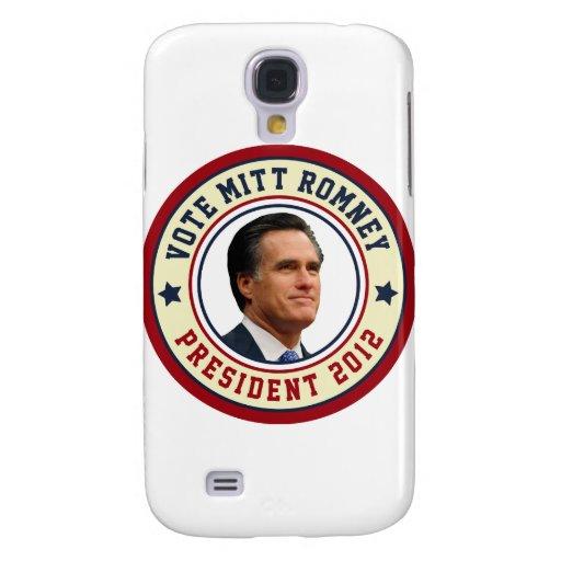 Voto Mitt Romney para el presidente 2012 Funda Para Galaxy S4