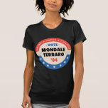 Voto Mondale/Ferraro '84 Playera