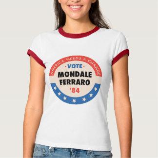 Voto Mondale/Ferraro '84 Polera