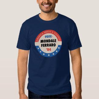 Voto Mondale/Ferraro '84 Remeras