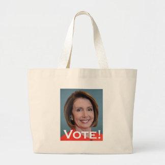 Voto Nancy Pelosi Bolsa Tela Grande