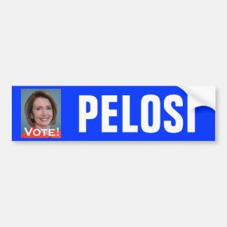 Voto Nancy Pelosi Pegatina Para Auto
