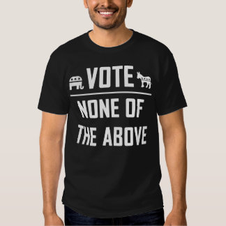 Voto ninguno del antedicho camisas