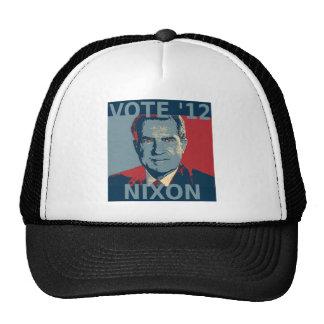 Voto Nixon 2012 Gorro De Camionero
