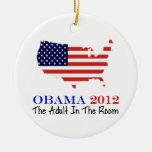 Voto Obama 2012 Adorno De Navidad