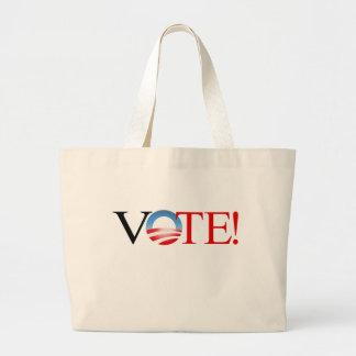 ¡VOTO! - Obama 2012 Bolsa De Mano