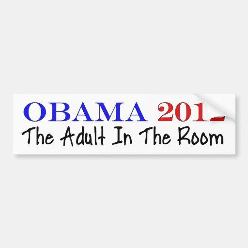 Voto Obama 2012 Etiqueta De Parachoque